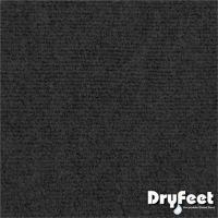 TAPETE DRY FEET PRETO/CINZA 60X90